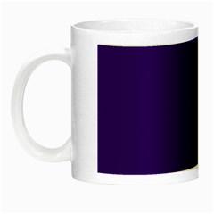 Plain Violet Purple Night Luminous Mugs by Jojostore