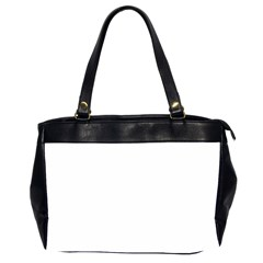 Plain White Office Handbags (2 Sides)  by Jojostore