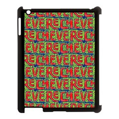 Typographic Graffiti Pattern Apple Ipad 3/4 Case (black) by dflcprints