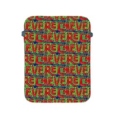 Typographic Graffiti Pattern Apple Ipad 2/3/4 Protective Soft Cases by dflcprints