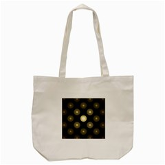 Gray Balls On Black Background Tote Bag (cream) by Nexatart
