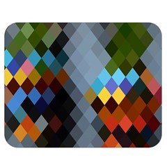 Diamond Abstract Background Background Of Diamonds In Colors Of Orange Yellow Green Blue And More Double Sided Flano Blanket (medium)  by Nexatart
