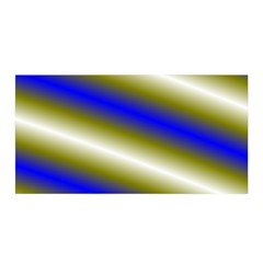 Color Diagonal Gradient Stripes Satin Wrap by Nexatart