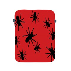 Illustration With Spiders Apple Ipad 2/3/4 Protective Soft Cases by Nexatart