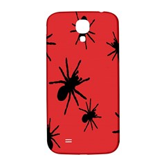 Illustration With Spiders Samsung Galaxy S4 I9500/i9505  Hardshell Back Case by Nexatart