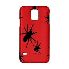 Illustration With Spiders Samsung Galaxy S5 Hardshell Case  by Nexatart