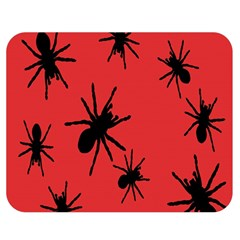 Illustration With Spiders Double Sided Flano Blanket (medium)  by Nexatart