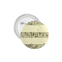Music Notes On A Color Background 1 75  Buttons by Nexatart
