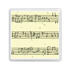 Music Notes On A Color Background Memory Card Reader (square)  by Nexatart