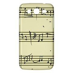 Music Notes On A Color Background Samsung Galaxy Mega 5 8 I9152 Hardshell Case  by Nexatart