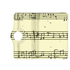 Music Notes On A Color Background Kindle Fire Hdx 8 9  Flip 360 Case by Nexatart