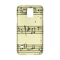 Music Notes On A Color Background Samsung Galaxy S5 Hardshell Case  by Nexatart