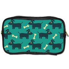 Happy Dogs Animals Pattern Toiletries Bags by Nexatart