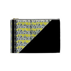 Note Abstract Paintwork Cosmetic Bag (medium)  by Nexatart
