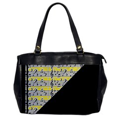 Note Abstract Paintwork Office Handbags by Nexatart