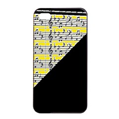 Note Abstract Paintwork Apple Iphone 4/4s Seamless Case (black) by Nexatart