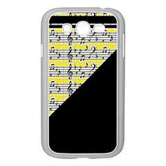 Note Abstract Paintwork Samsung Galaxy Grand Duos I9082 Case (white) by Nexatart