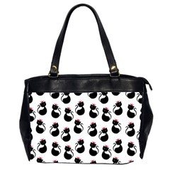 Cat Seamless Animals Pattern Office Handbags (2 Sides)  by Nexatart