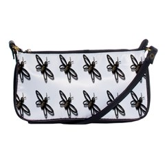Insect Animals Pattern Shoulder Clutch Bags by Nexatart