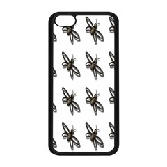 Insect Animals Pattern Apple Iphone 5c Seamless Case (black) by Nexatart