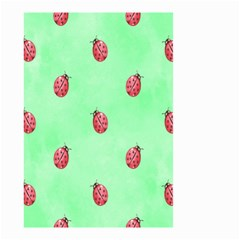 Pretty Background With A Ladybird Image Small Garden Flag (two Sides) by Nexatart