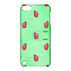 Pretty Background With A Ladybird Image Apple Ipod Touch 5 Hardshell Case With Stand by Nexatart