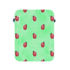 Pretty Background With A Ladybird Image Apple Ipad 2/3/4 Protective Soft Cases by Nexatart