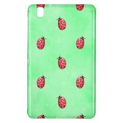 Pretty Background With A Ladybird Image Samsung Galaxy Tab Pro 8 4 Hardshell Case by Nexatart