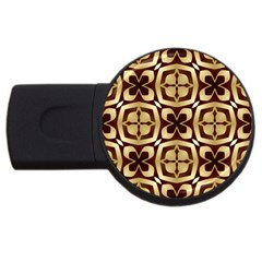 Abstract Seamless Background Pattern Usb Flash Drive Round (2 Gb) by Nexatart