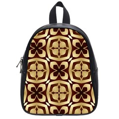 Abstract Seamless Background Pattern School Bags (small)  by Nexatart