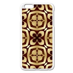 Abstract Seamless Background Pattern Apple Iphone 6 Plus/6s Plus Enamel White Case by Nexatart