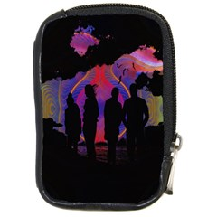 Abstract Surreal Sunset Compact Camera Cases by Nexatart