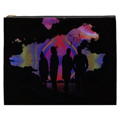 Abstract Surreal Sunset Cosmetic Bag (xxxl)  by Nexatart