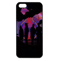 Abstract Surreal Sunset Apple Iphone 5 Seamless Case (black) by Nexatart