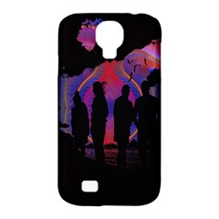 Abstract Surreal Sunset Samsung Galaxy S4 Classic Hardshell Case (pc+silicone) by Nexatart