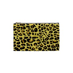 A Jaguar Fur Pattern Cosmetic Bag (small)  by Nexatart