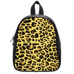 A Jaguar Fur Pattern School Bags (small)  by Nexatart