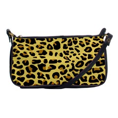 A Jaguar Fur Pattern Shoulder Clutch Bags by Nexatart