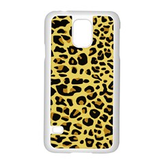 A Jaguar Fur Pattern Samsung Galaxy S5 Case (white) by Nexatart