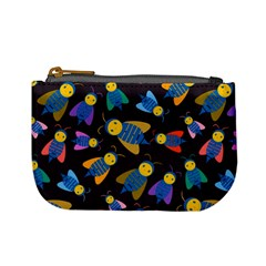 Bees Animal Insect Pattern Mini Coin Purses