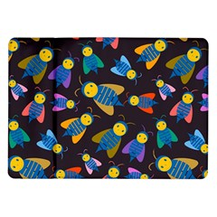 Bees Animal Insect Pattern Samsung Galaxy Tab 10.1  P7500 Flip Case by Nexatart