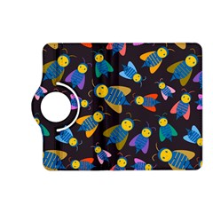 Bees Animal Insect Pattern Kindle Fire Hd (2013) Flip 360 Case by Nexatart