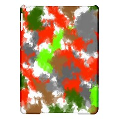 Abstract Watercolor Background Wallpaper Of Splashes  Red Hues Ipad Air Hardshell Cases by Nexatart