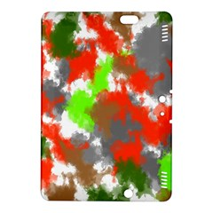 Abstract Watercolor Background Wallpaper Of Splashes  Red Hues Kindle Fire Hdx 8 9  Hardshell Case