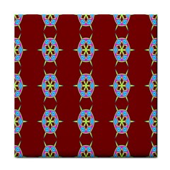 Geometric Seamless Pattern Digital Computer Graphic Wallpaper Face Towel