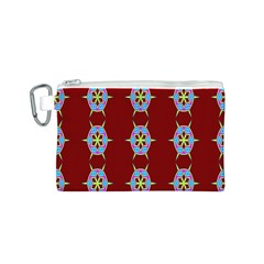 Geometric Seamless Pattern Digital Computer Graphic Wallpaper Canvas Cosmetic Bag (s) by Nexatart