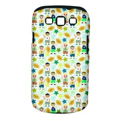 Football Kids Children Pattern Samsung Galaxy S Iii Classic Hardshell Case (pc+silicone) by Nexatart