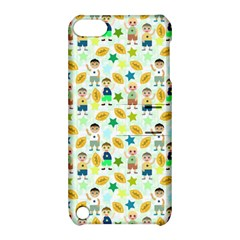 Football Kids Children Pattern Apple Ipod Touch 5 Hardshell Case With Stand by Nexatart