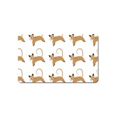 Cute Cats Seamless Wallpaper Background Pattern Magnet (name Card) by Nexatart