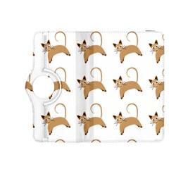 Cute Cats Seamless Wallpaper Background Pattern Kindle Fire Hdx 8 9  Flip 360 Case by Nexatart